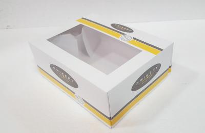 Kwikery doughnut box as an example of prototype for Field Trip Lunch Box.